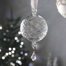 クリスマスガラスオーナメント