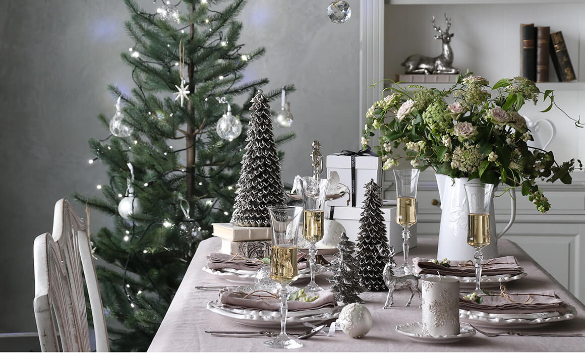 サラグレースのクリスマスコーディネート