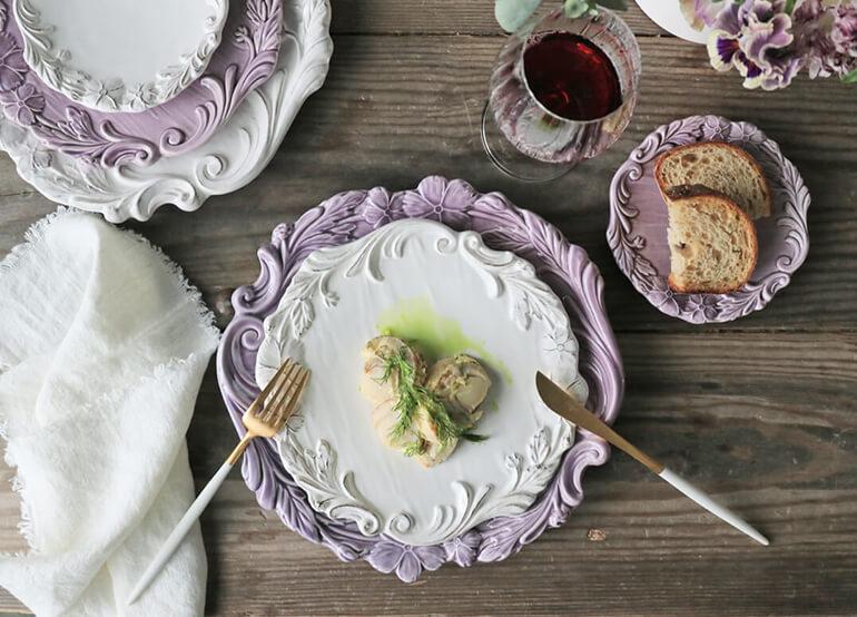 サラグレースのテーブルコーディネート