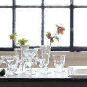 ガラス食器でおしゃれにテーブルコーディネートを
