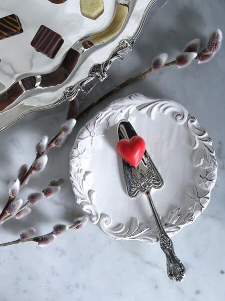 Royal Familyシルバースモールケーキサーバー