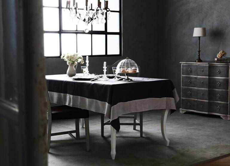 テーブルクロスの素材感・質感